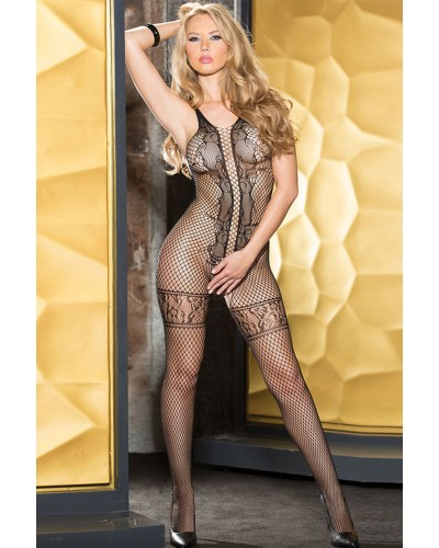 Bodystocking sexy plasa
