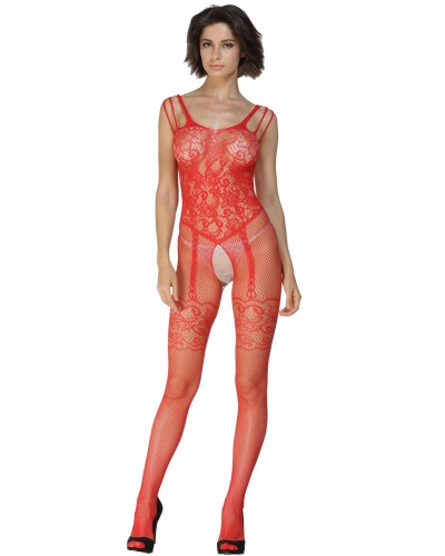 Bodystocking sexy cu model floral