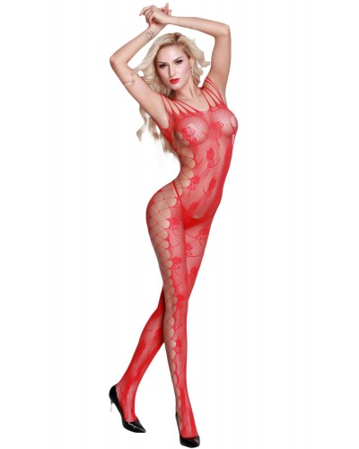 Bodystocking sexy cu decupaje laterale