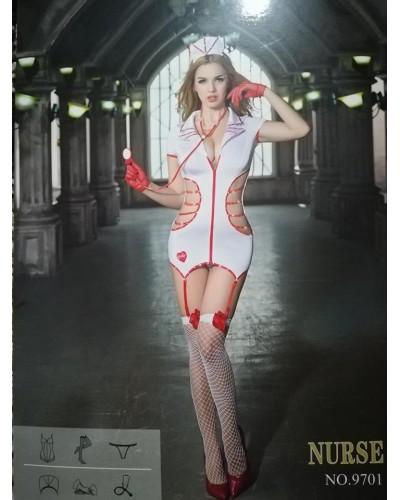 Costum asistenta sexy